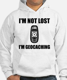 Geocaching Not Lost Hoodie