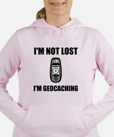 Geocaching Not Lost Women's Hooded Sweatshirt