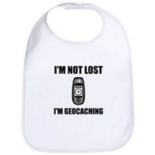 Geocaching Not Lost Bib