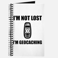 Geocaching Not Lost Journal