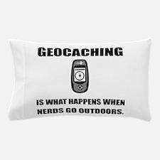 Geocaching Nerds Pillow Case