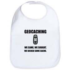 Geocaching Kicked Cache Bib