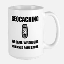 Geocaching Kicked Cache Mugs