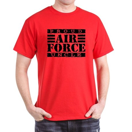 Proud Air Force Uncle Dark T-Shirt