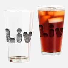 Liv Wolf Drinking Glass