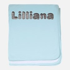 Lilliana Wolf baby blanket