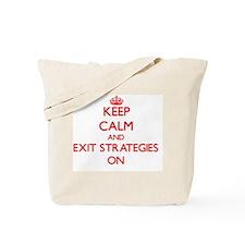 EXIT STRATEGIES Tote Bag