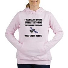 GeoCache Satellites Women's Hooded Sweatshirt