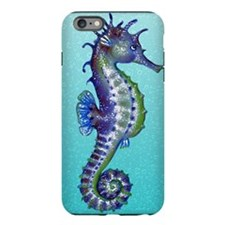 Seahorse Blue iPhone Plus 6 Tough Case