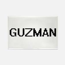 Guzman digital retro design Magnets