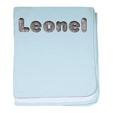Leonel Wolf baby blanket