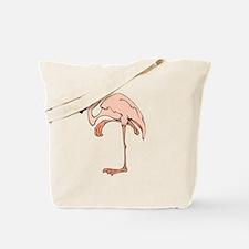 Flamingo Pink Tote Bag