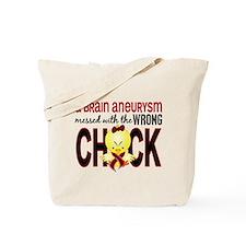 Brain Aneurysm MessedWithWrongChick1 Tote Bag