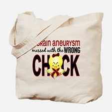 Brain Aneurysm MessedWithWrongChick1 Tote Bag