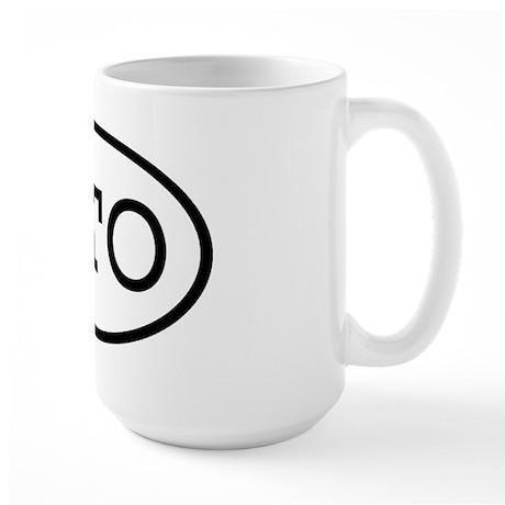 GTO Oval Large Mug