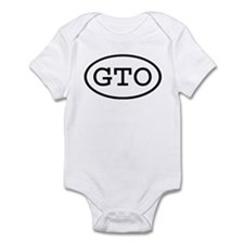 GTO Oval Infant Bodysuit
