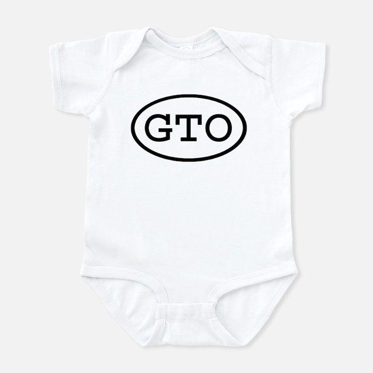 GTO Oval Infant Bodysuit