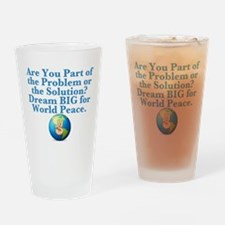Problem or Solution? Drinking Glass