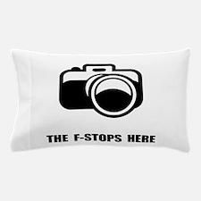F Stop Pillow Case