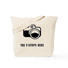 F Stop Tote Bag