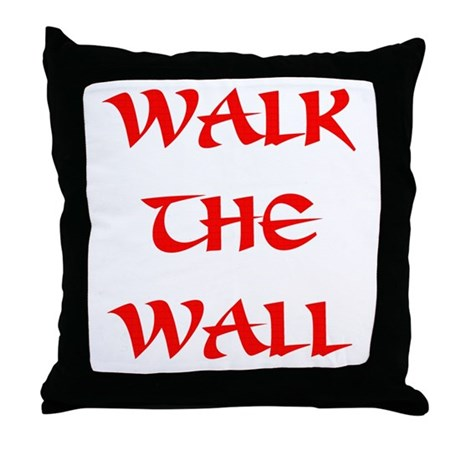 The Great Wall Throw Pillow
