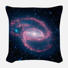 Coiled Galaxy Woven Throw Pillow