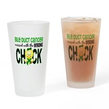 Bile Duct Cancer MessedWithWrongChi Drinking Glass