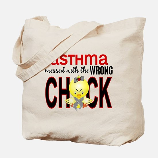 Asthma MessedWithWrongChick1 Tote Bag