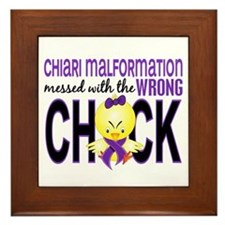 Chiari MessedWithWrongChick1 Framed Tile