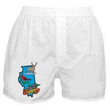 Illinois Boxer Shorts
