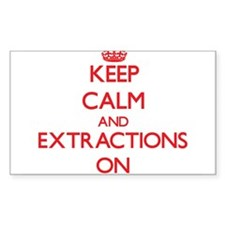 EXTRACTIONS Decal