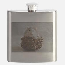 Little Rat in Basket Flask