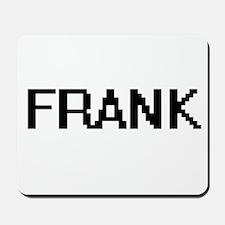 Frank digital retro design Mousepad