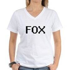 Fox digital retro design T-Shirt