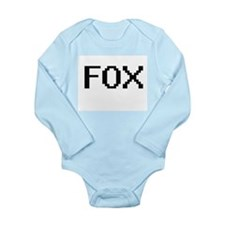 Fox digital retro design Body Suit