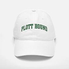 Plott Hound (green) Baseball Baseball Cap