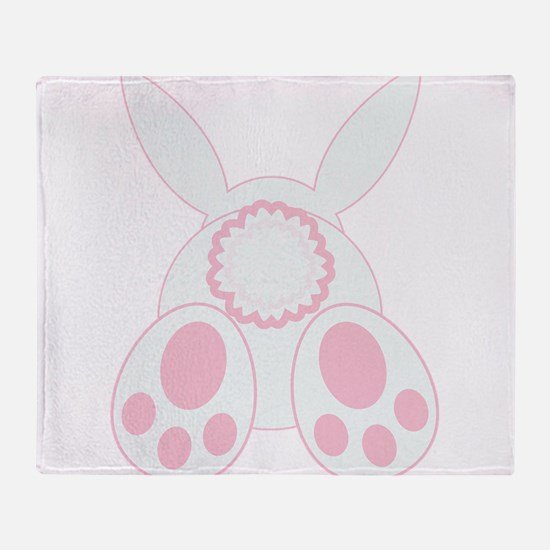 Bunny Back Throw Blanket