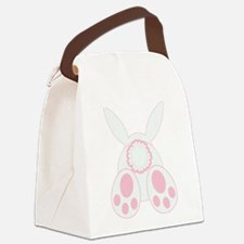 Bunny Back Canvas Lunch Bag