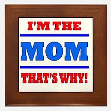 The Mom Framed Tile