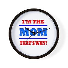 The Mom Wall Clock