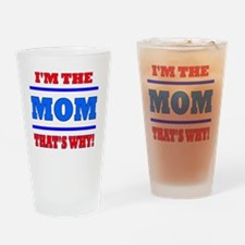 The Mom Drinking Glass