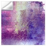 Abstract in purple Wall Decals