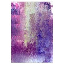 Abstract in Purples and Green