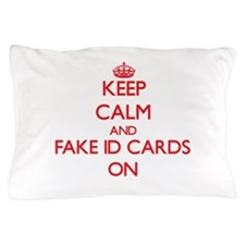 Fake Id Cards Pillow Case