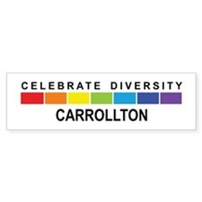 CARROLLTON - Celebrate Divers Bumper Bumper Sticker