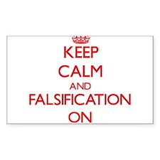 Falsification Decal
