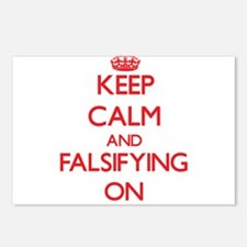 Falsifying Postcards (Package of 8)