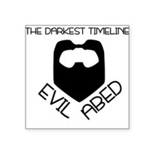 "The Darkest Timeline Square Sticker 3"" x 3"""