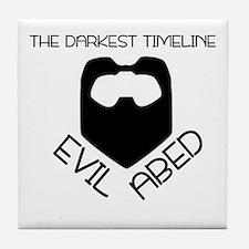 The Darkest Timeline Tile Coaster