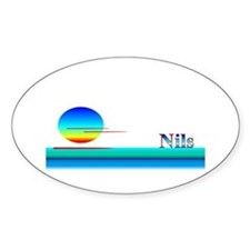 Nils Oval Decal